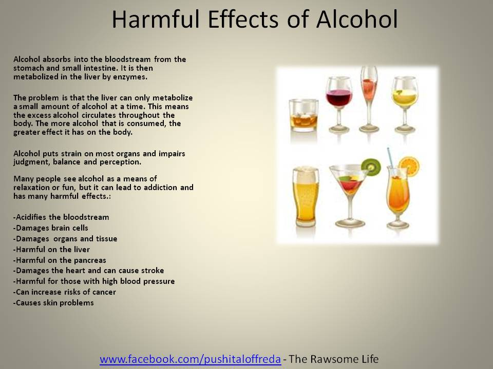effects alcohol essays